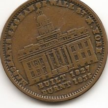 Image of Hard Times Token Merchant Exchange NYC HT293.