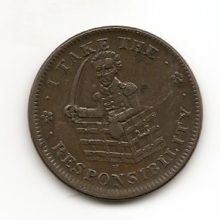Image of Hard Times Token of Andrew Jackson HT#69