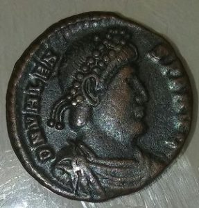 Ancient Coins and Collectibles Valens obverse CROWN