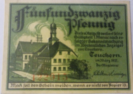 Ancient Coins and Collectibles Notgeld 10 25 pfennig back