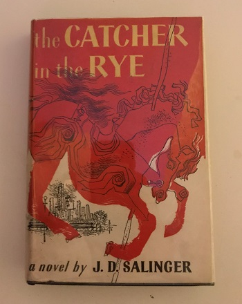 Salinger Jd The Catcher In The Rye 1951 First Edition Bomc W